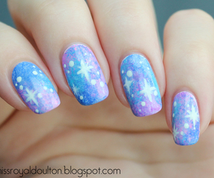 girl, nails, and summer image
