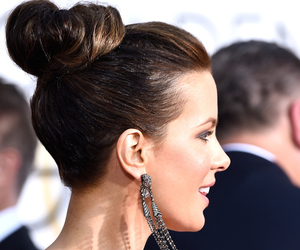 fashion, golden globes, and hair style image
