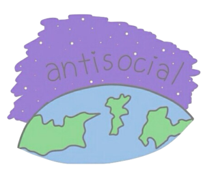antisocial, overlay, and transparent image