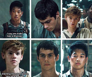 dylan o'brien, Minho, and newt image