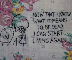 quotes, grunge, and dead image