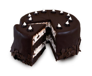 cake, chocolate, and pastel image