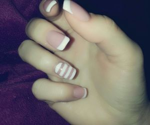 fashion, french, and nails image