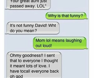 lol, funny, and mom image