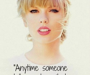 Taylor Swift and words image