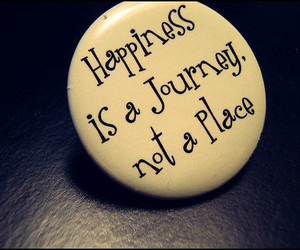 quote, happiness, and journey image