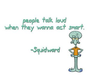quote, squidward, and spongebob image