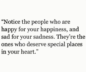 happy, heart, and quote image