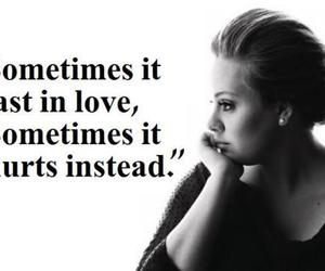 Adele, quotes, and text image