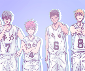 anime, pastel, and daiki aomine image