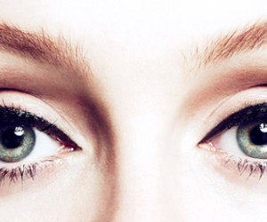 Adele, eyes, and makeup image