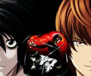 death note, kira, and lawliet image