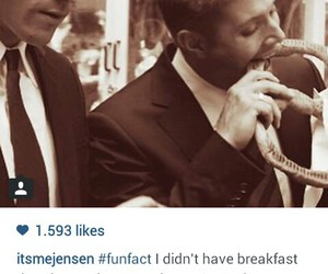 dean, funny, and Jensen Ackles image