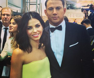 channing tatum, couple, and golden globes image