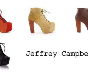 high heals, jeffrey campbell, and nice image