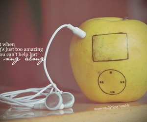ipod, pink, and quote image