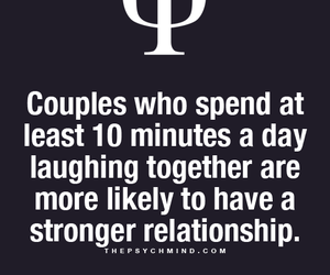 couple, fact, and laugh image