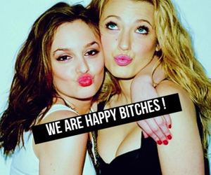 gossip girl and bitch image