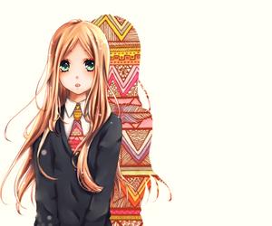 long hair, manga, and suiren image