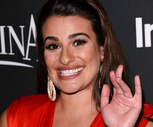 lea michele, glee, and golden globes image