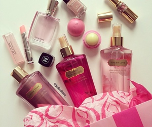 pink, Victoria's Secret, and chanel image