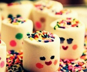 delicious, marshmallows, and yummy image