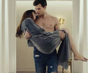 Hot, christian grey, and fifty shades of grey image