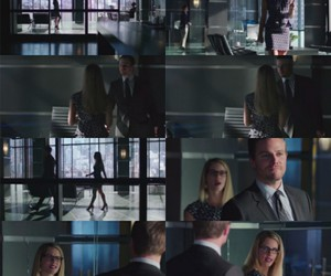 otp, arrow cw, and tv show image