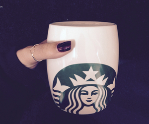 coffe, happy, and nails image
