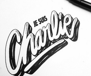 je suis charlie, france, and charlie image