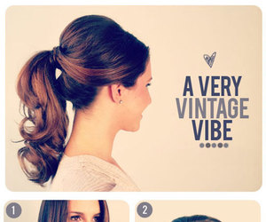 hair, hairstyle, and vintage image