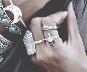bracelets, ring, and rings image