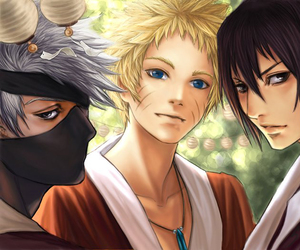 anime, naruto, and kakashi image