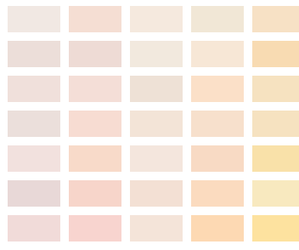 color palette, girly, and romantic image