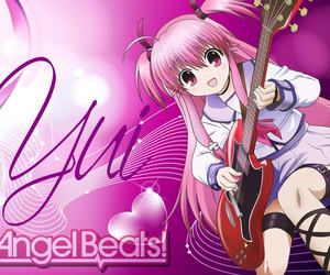 yui and angel beats image