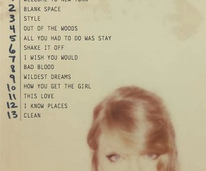 Taylor Swift, 1989, and album image