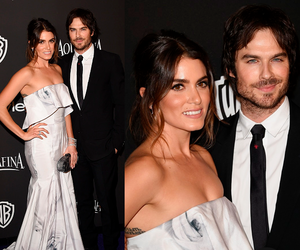 golden globes, ian somerhalder, and nikki reed image