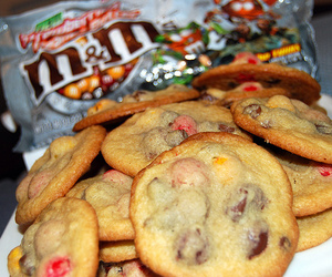 Cookies, food, and m&m's image