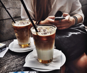aesthetic, boho, and coffe image
