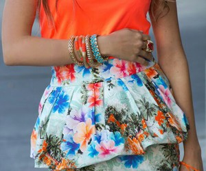 fashion, style, and orange image