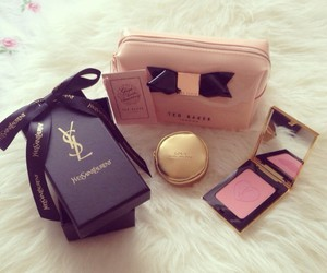 make up, YSL, and ted baker image