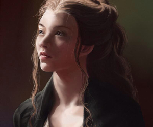 Natalie Dormer, game of thrones, and art image