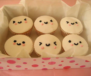 cupcake, cute, and food image