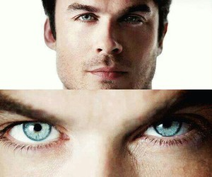 ian somerhalder, damon, and tvd image