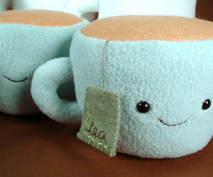 tea, cute, and cup image