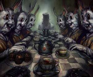 art and mad hatter image