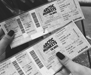 arctic monkeys, concert, and music image