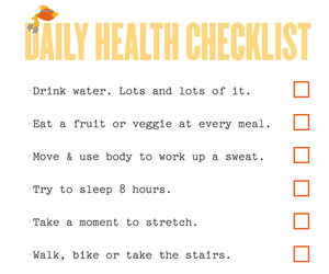 checklist, drink, and eat image