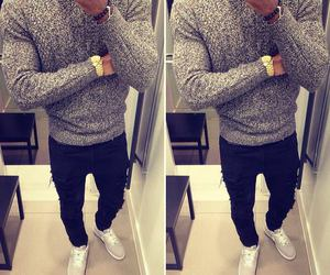 style, boy, and watch image