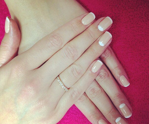 beige, gold, and manicure image